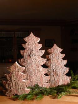 Holz Baum, Holz Bäumchen, Deko Baum