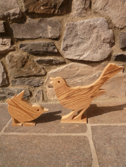Holz Vögel, Deko Vögel, Vögelchen