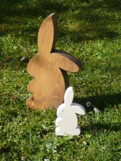 Holz Hasen, Deko Hasen, Häschen aus Holz