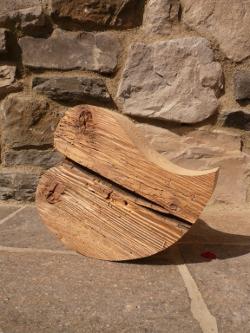 Holz Herzen, Deko Herzen, Herzen Landhausstil